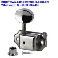 High Quality Electric Bass Sealed Knob Guitar Locking Tuning Pegs Tuner Machine Head for Bass Tuner Key Golden