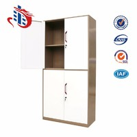 fair price steel book rack cabinet 2 part doors file cabinet