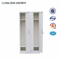 3 Door students dormitory steel wardrobe lockers