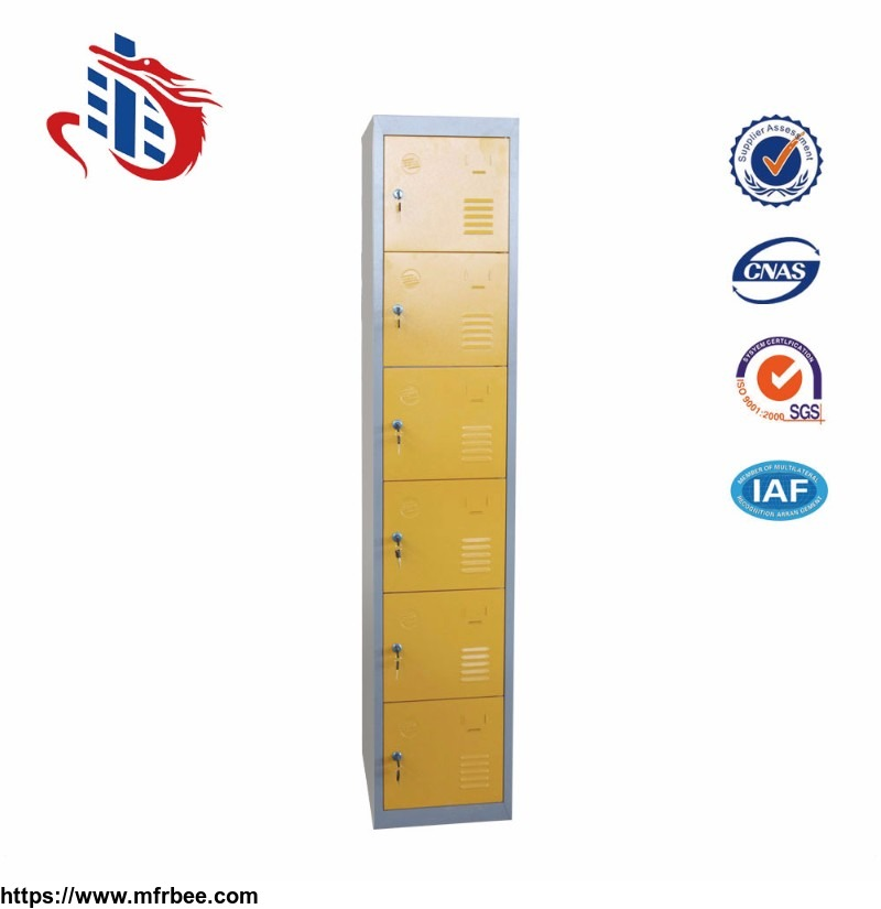 gym_6_doors_steel_locker_good_quality_metal_locker