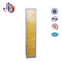 gym 6 doors Steel Locker good quality metal locker
