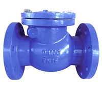 DIN PN10/16 Flange type metal seat-- Swing check valve