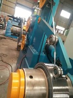 Strip rewinding machine for paper tube