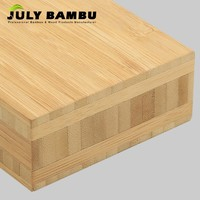 High Quality 3-40mm Bamboo Plywood Manufacturer 5  Ply Cross Laminated Bamboo Timber Use for Countertops
