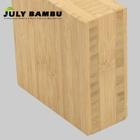 Hot selling 5 Ply Bamboo Panel 25mm  40mm Cross Laminated Bamboo Timber