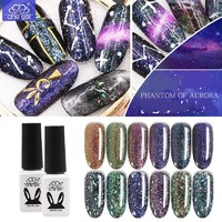 Nail Gel Polish Chameleon Brocade Phantom Of Aurora UV LED Gel Polish Nail Tips