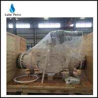 API 6D pipeline ball type foam pig valve