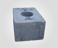 Forging cylinder base-forged hydraulic cylinder components