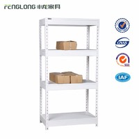Warehouse light duty rack pick bolt nut angle steel shelf