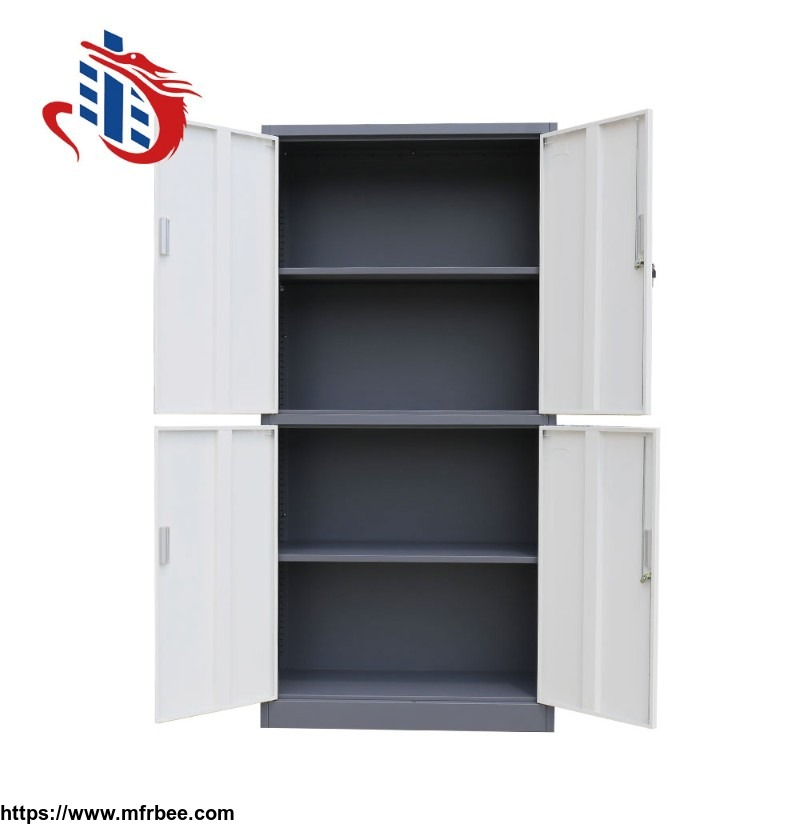 Doors galvanized steel file cabinet for