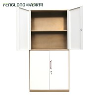 classic office furniture 4 doors File Cabinet with adjustable shelves