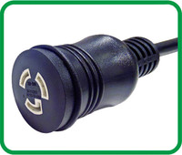 NEMA L5-20R UL Locking female connector XR-510