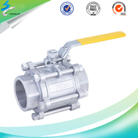 Lost Wax Casting Full Flow Stainless Steel Control Ball Valve