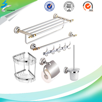 Hardware Stainless Steel Towel Rack Display in Bathroom Items
