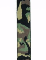 Good quality Camo Polyester printed webbing for sale