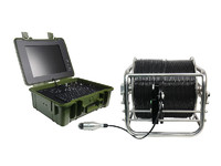 more images of deep well inspection camera with 7mm soft cable video camera system meter/foot counter