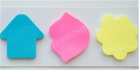 custom printed Die cut shape sticky notes