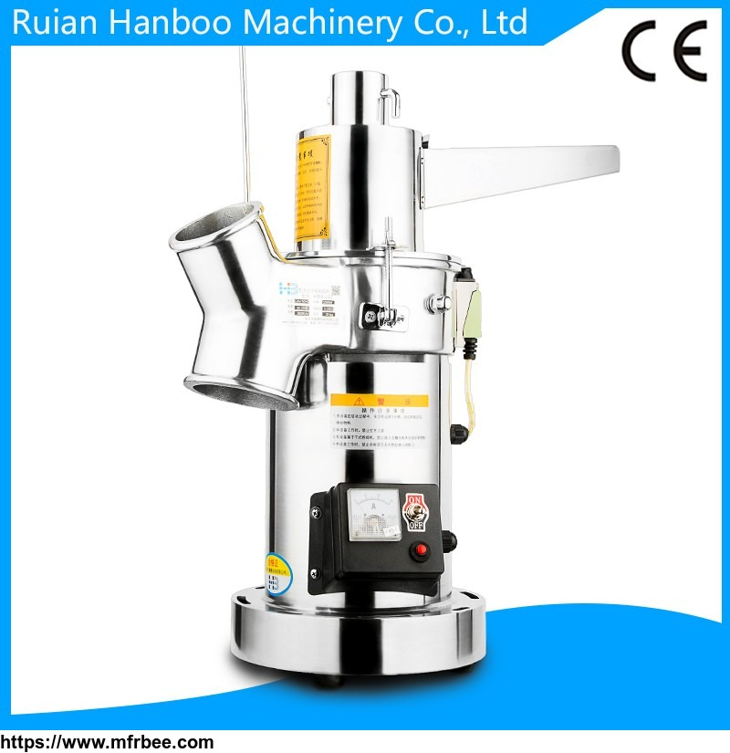 Home and chemist's shop use Chinese herb milling machine/grinding machine/grinder