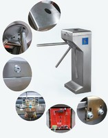 MOBK RFID Access Control Stainless Steel Tripod Turnstile