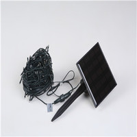 200 LED solar string lights 20M 28V IP44 8 flash modes