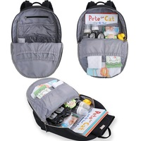 Diaper Backpack Multi-function Waterproof Travel Nappy Bag With Changing Pad