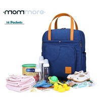Stylish Diaper Bag Backpack Multi-function Changing Shoulder Bag Nappy Tote Bag