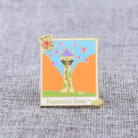 more images of Rapunzel's Tower Custom Enamel Pins