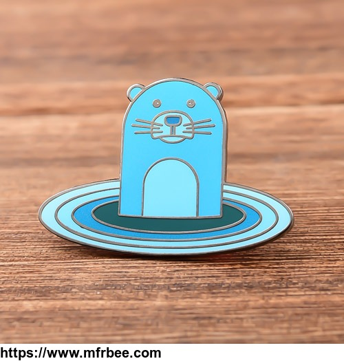 Blue Otter Custom Enamel Pins