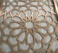 decorative laser cut screen/partition/folding screen for facades/partition/room divider