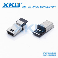 mini usb adapter cable T port switch A male connector adapter