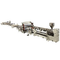 CA PEEK Special materials plate extrusion machine