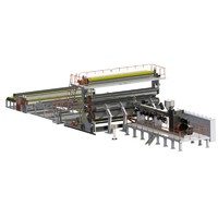 PE Extra wide waterproof roll or waterproof film extrusion machine