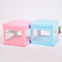 Food-grade PET Cake Box