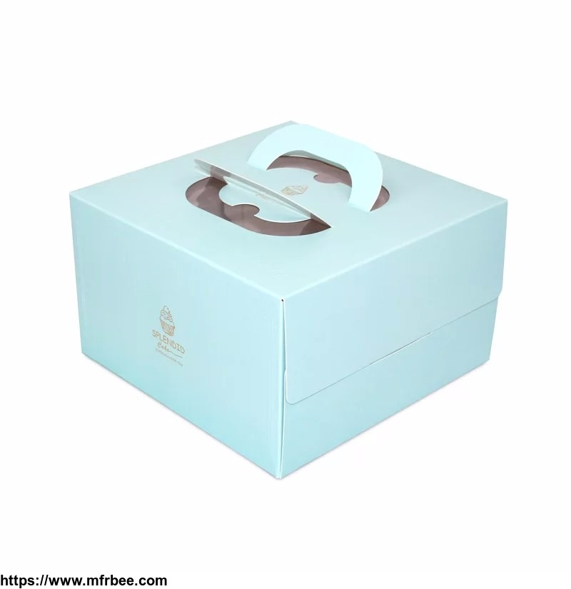 Baking Dessert box with multi-size customized technology
