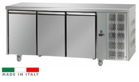 Mastercool 3 Door Stainless Steel Counter Freezer
