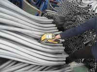 'S'Shape Stainless Steel Tube Material TP409 and TP430T