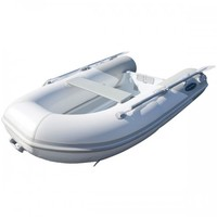 RIB-275 Aluminum Hull Inflatable Boat, White, Length: 8'6