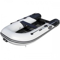 RIB-275 Aluminum Hull Inflatable Boat, Black, Length: 8'6""