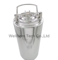 5 gallon Stainless steel Ball Lock Cornelius Style Beer OB Keg