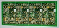 Immersion Gold double side Printed Circuits Board (PCB) with aspect ratio 8:1