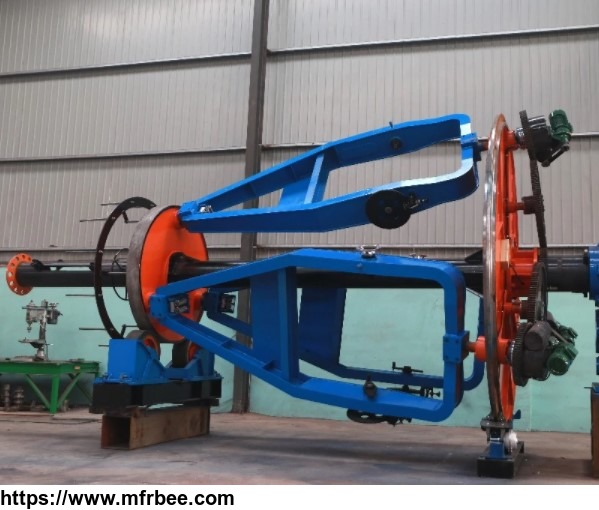 4 x 10 sq mm electrical cable making machine laying-up machine