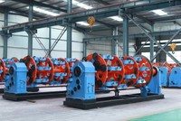400/500 planetary disc type wire rope twisting stranding machine