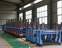 Shaftless pay off cable making machine
