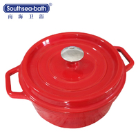 Energy saving Round cast iron pot