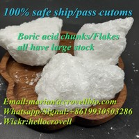 Boric aicd chunks,boric acid flakes,11113-50-1 with factory price Whatsapp:+8619930503286