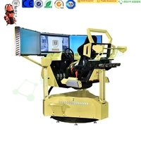 Three Screen Racing Car Video Game Driving Simulator Machine City Car Driving Simulator