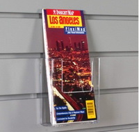 acrylic magazine rack mount on wall