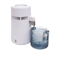 ECO-WORTHY Pure Water Distiller 750W 220V 4L Water Purifier Filter Dental Medical Hospital