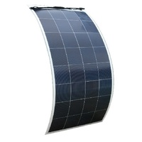 ECO-WORTHY 160 Watts 18V Polycrystalline Semi Flexible Solar Panel For RV Boat Camping Battery Charging