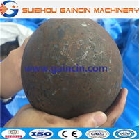 dia.25mm to 125mm forged steel mill balls, steel forged mill balls
